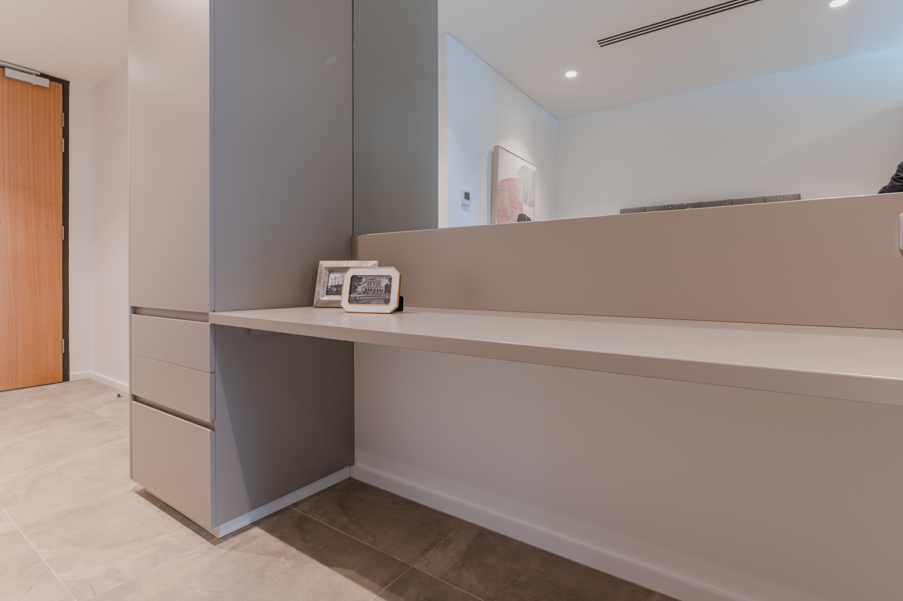 White Study Desk by Instyle Wardrobes